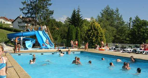 Camping Le Moulin Patornay Camping 4 Toiles Avec Piscine